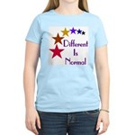 """Different Is Normal"" Women's T-Shirt 24"