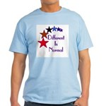 """Different Is Normal"" Blue T-Shirt 3"