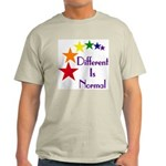 """Different Is Normal"" Khaki T-Shirt 1"