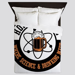 For Craft Beer Lovers who Brew Their B Queen Duvet