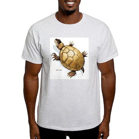 Mud Turtle Ash Grey T-Shirt