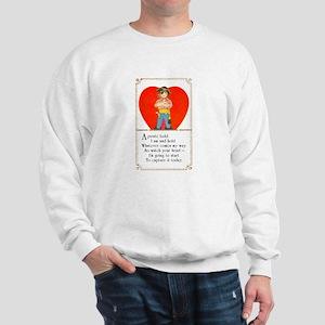 Pirate Valentine Sweatshirt