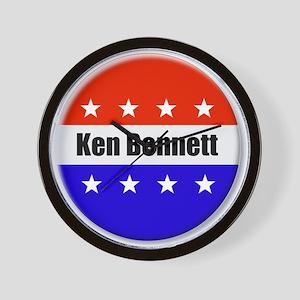 Ken Bennett Wall Clock