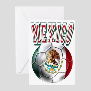 Futbol Mexicano Greeting Cards
