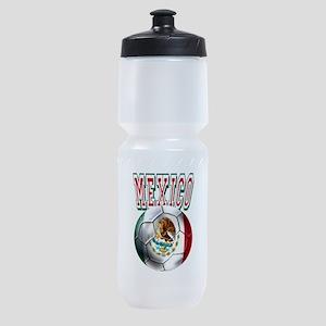 Futbol Mexicano Sports Bottle