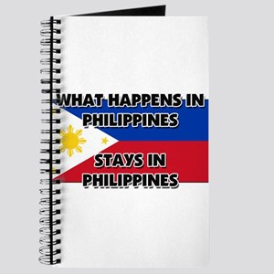 What Happens In PHILIPPINES Stays There Journal