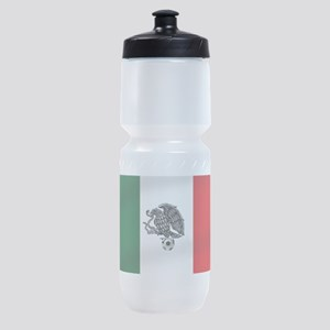 Mexican Soccer Flag Sports Bottle
