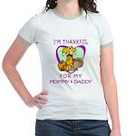 Thanksgiving Kids Jr. Ringer T-Shirt