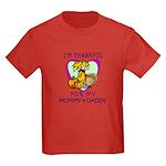 Thanksgiving Kids Kids Dark T-Shirt