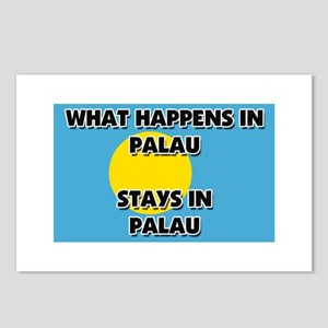What Happens In PALAU Stays There Postcards (Packa