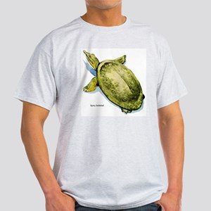 Spiny Softshell Turtle (Front) Ash Grey T-Shirt