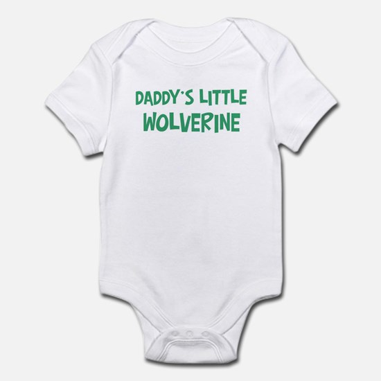 Daddys little Wolverine Infant Bodysuit