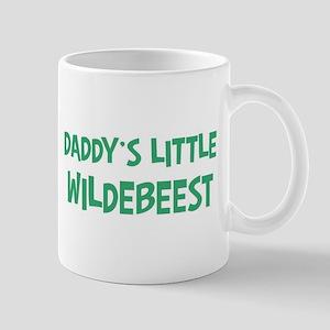 Daddys little Wildebeest Mug