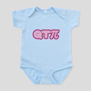 Q T Pi (pink) Infant Bodysuit