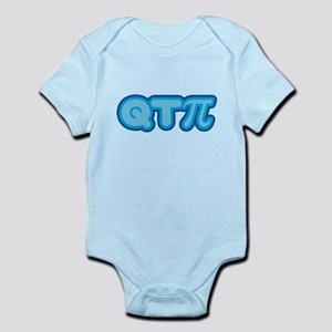 Q T Pi (blue) Infant Bodysuit