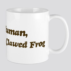 Half-African Clawed Frog Mug