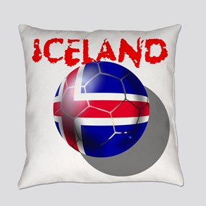 Iceland Football Everyday Pillow