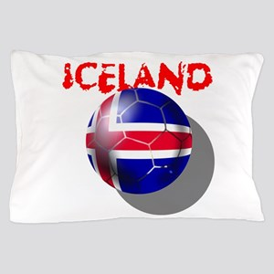 Iceland Football Pillow Case