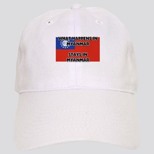 What Happens In MYANMAR Stays There Cap