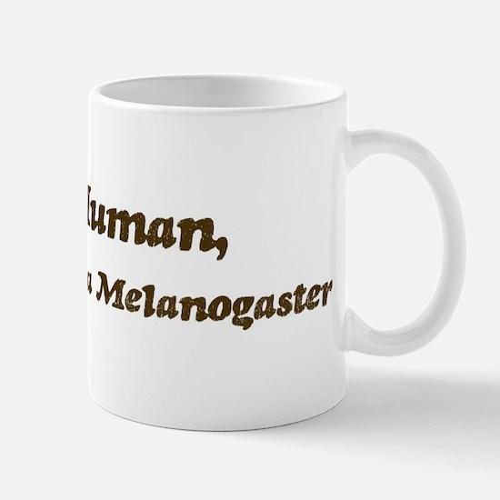 Half-Drosophila Melanogaster Mug