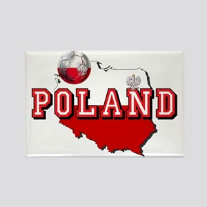 Polish Flag Map Magnets