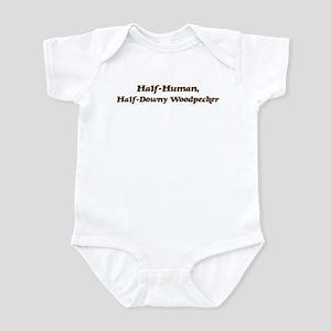 Half-Downy Woodpecker Infant Bodysuit
