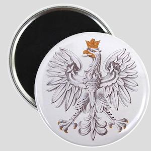 White Eagle Of Poland Magnets