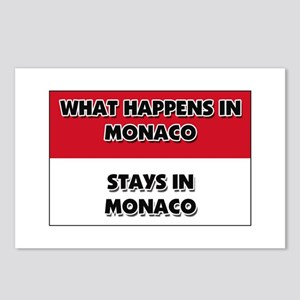 What Happens In MONACO Stays There Postcards (Pack