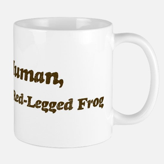 Half-California Red-Legged Fr Mug