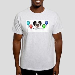 SAY IT WITH BALLOONS Ash Grey T-Shirt