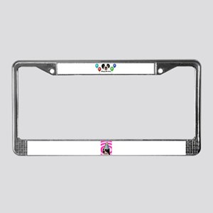 SAY IT WITH BALLOONS License Plate Frame