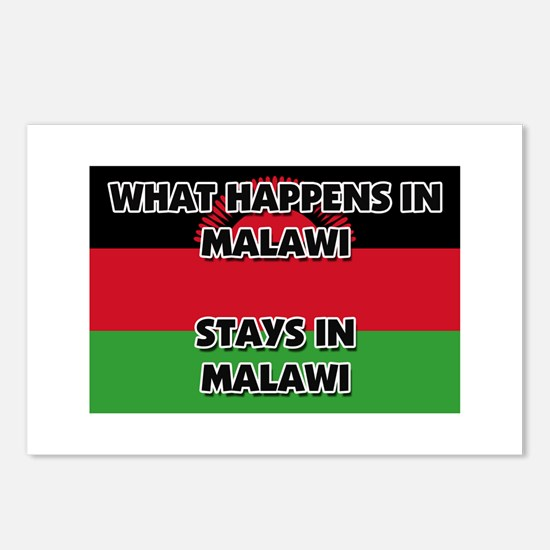 What Happens In MALAWI Stays There Postcards (Pack