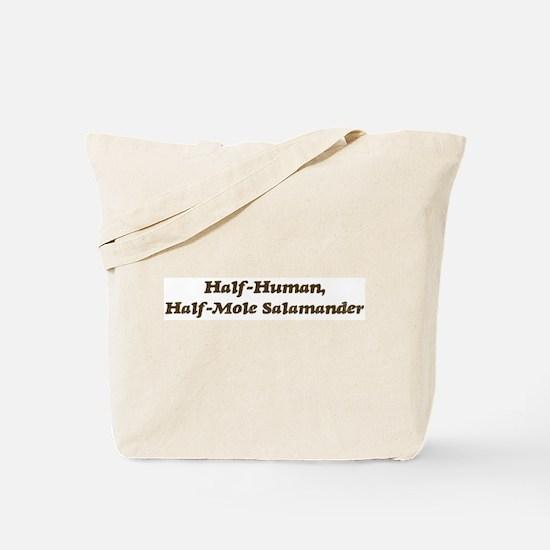 Half-Mole Salamander Tote Bag
