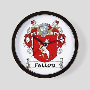 Fallon Coat of Arms Wall Clock