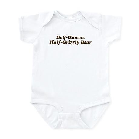 Half-Grizzly Bear Infant Bodysuit