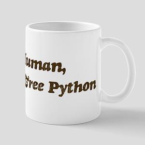 Half-Green Tree Python Mug