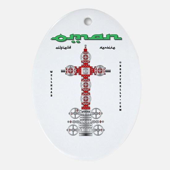 Oman Oilfield Service Oval Ornament