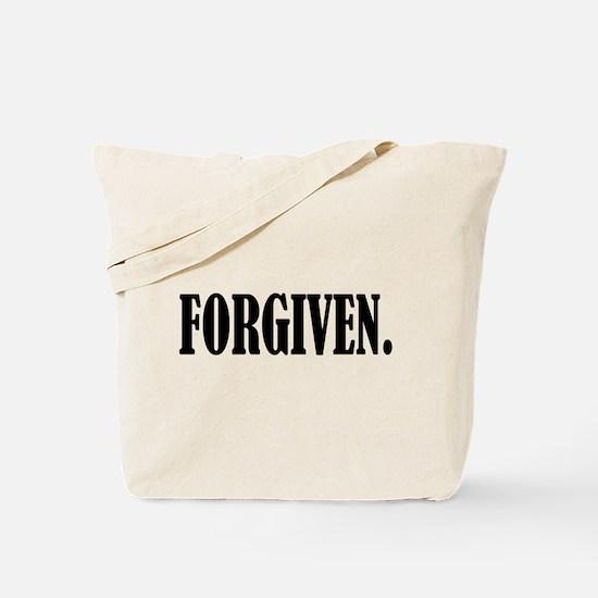 FORGIVEN. Tote Bag
