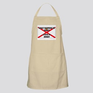 What Happens In JERSEY Stays There BBQ Apron