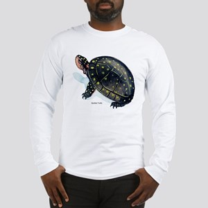 Spotted Turtle (Front) Long Sleeve T-Shirt