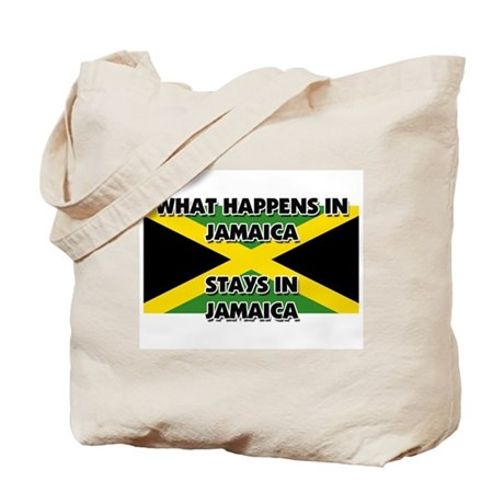 What Happens In JAMAICA Stays There Tote Bag