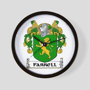 Farrell Coat of Arms Wall Clock