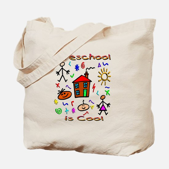 Preschool Is Cool Tote Bag