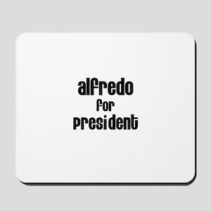 Alfredo for President Mousepad