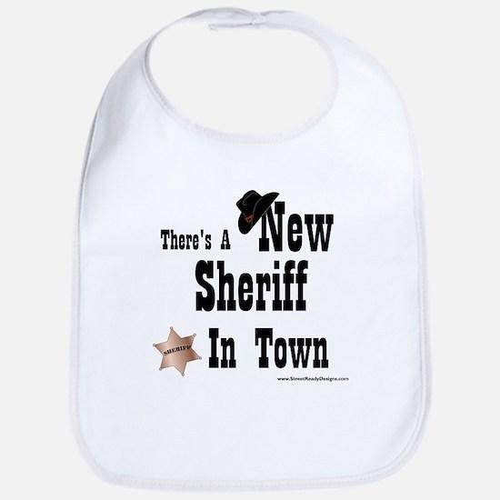 """New Sheriff In Town"" Bib"