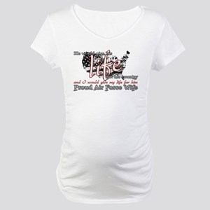 GIVE HIS LIFE Maternity T-Shirt