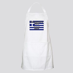 What Happens In GREECE Stays There BBQ Apron