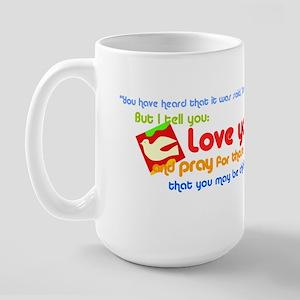 Matthew5.43-45 Mugs