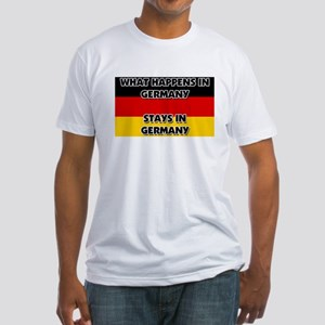 What Happens In GERMANY Stays There Fitted T-Shirt