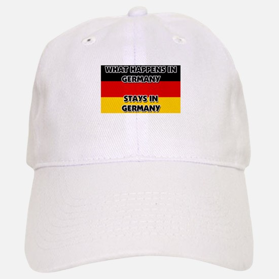 What Happens In GERMANY Stays There Baseball Baseball Cap